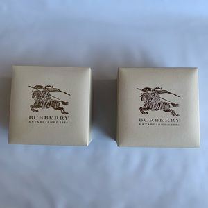 Burberry Lot 2 Watch  Boxes Only